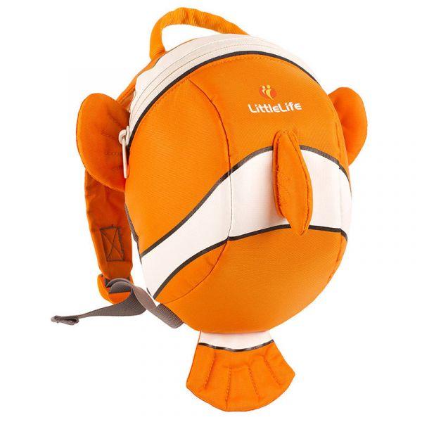LittleLife Animal Toddler Backpack clownfish