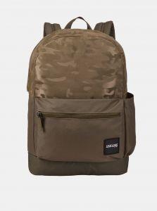 Zelený vzorovaný batoh Case Logic Founder 26 l