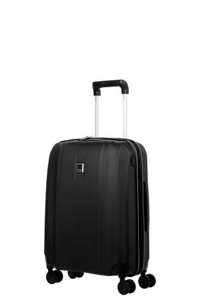 Titan Kabinový cestovní kufr Xenon 4w S USB Black 38 l