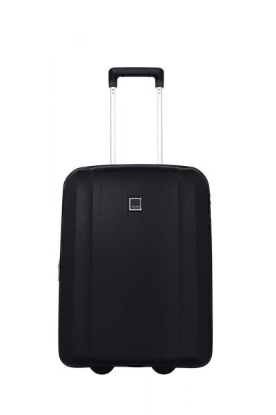 Titan Kabinový cestovní kufr Xenon 2w S exp USB Black 44/49 l