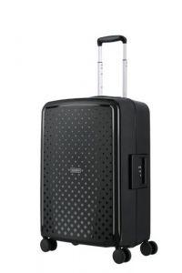 Travelite Skořepinový cestovní kufr Terminal M Black 72 l