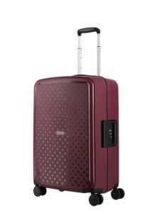 Travelite Skořepinový cestovní kufr Terminal M Lilac 72 l