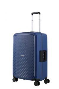 Travelite Skořepinový cestovní kufr Terminal M Navy 72 l