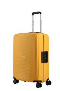 Travelite Skořepinový cestovní kufr Terminal M Yellow 72 l