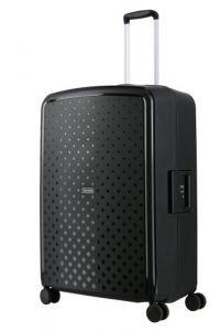 Travelite Skořepinový cestovní kufr Terminal L Black 108 l