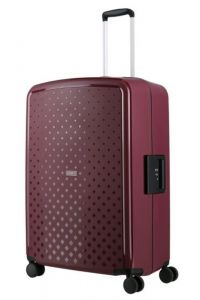 Travelite Skořepinový cestovní kufr Terminal L Lilac 108 l