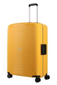 Travelite Skořepinový cestovní kufr Terminal L Yellow 108 l