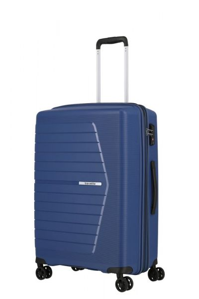 Travelite Skořepinový cestovní kufr Nubis M Midnight blue 70/76 l