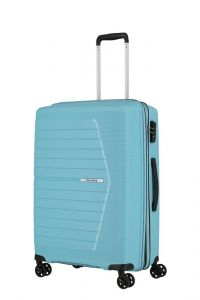 Travelite Skořepinový cestovní kufr Nubis M Light blue 70/76 l