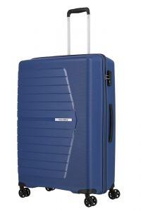 Travelite Skořepinový cestovní kufr Nubis L Midnight blue 92 l