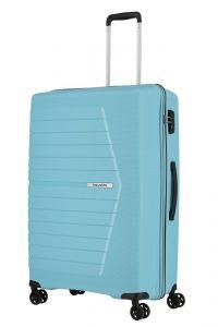 Travelite Skořepinový cestovní kufr Nubis L Light blue 92 l