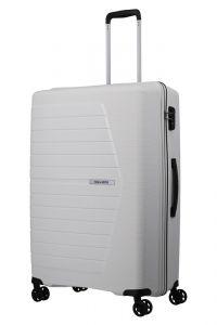 Travelite Skořepinový cestovní kufr Nubis L White 92 l