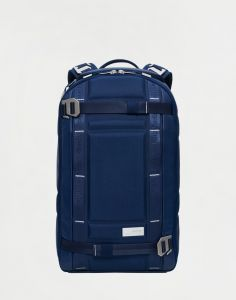 Douchebags The Backpack Deep Sea Blue Leather