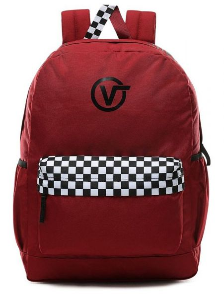 VANS Batoh Sporty Realm Plus Biking Red 27 l