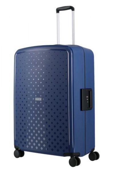 Travelite Skořepinový cestovní kufr Terminal L Navy 108 l