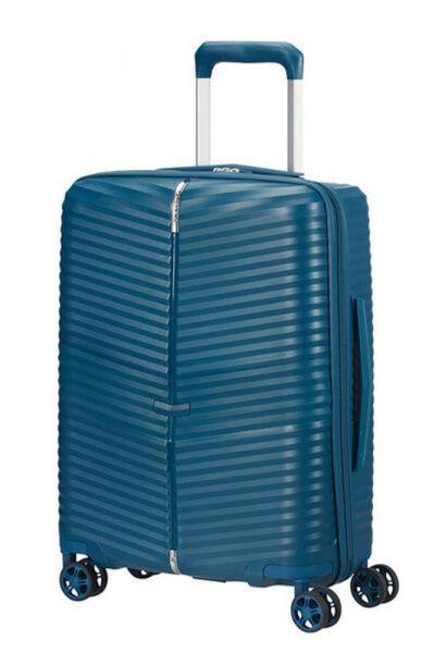 Samsonite Kabinový cestovní kufr Darts Spinner 36 l – modrá