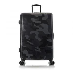 Heys Skořepinový cestovní kufr Black Camo L 132 l