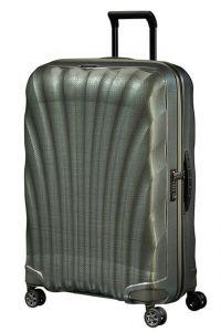 Samsonite Skořepinový cestovní kufr C-lite Spinner 94 l – metalic zelená