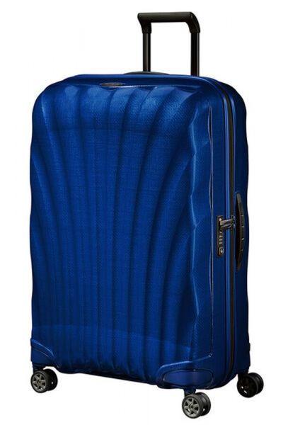 Samsonite Skořepinový cestovní kufr C-lite Spinner 94 l – tmavě modrá