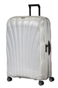 Samsonite Skořepinový cestovní kufr C-lite Spinner 123 l – bílá