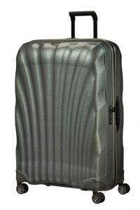 Samsonite Skořepinový cestovní kufr C-lite Spinner 123 l – metalic zelená
