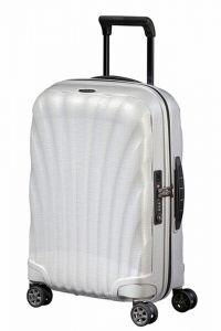 Samsonite Kabinový cestovní kufr C-lite Spinner EXP 36/42 l – bílá