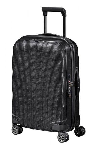 Samsonite Kabinový cestovní kufr C-lite Spinner EXP 36/42 l – černá