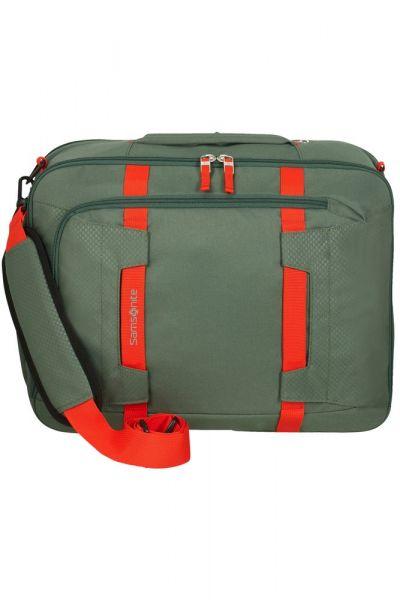 """Samsonite Taška na notebook/batoh 2v1 15,6"""" Sonora EXP 28/32,5 l – zelená"""