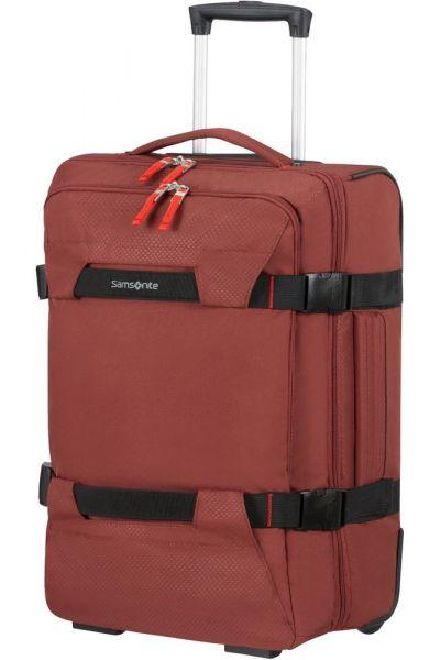 Samsonite Cestovní taška na kolečkách Sonora 48 l – červená