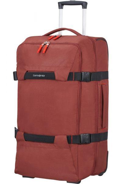Samsonite Cestovní taška na kolečkách Sonora 72,5 l – červená