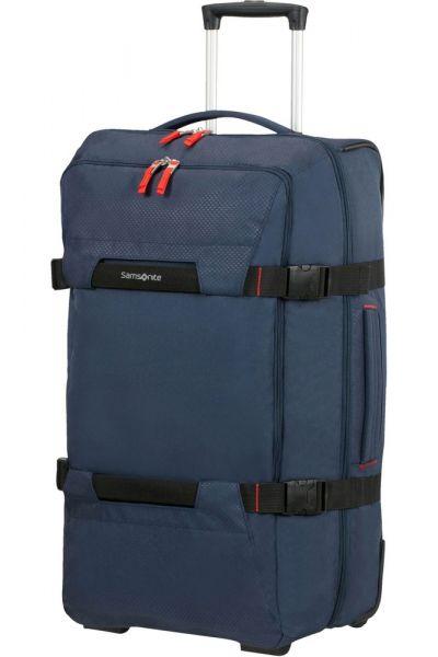 Samsonite Cestovní taška na kolečkách Sonora 72,5 l – modrá