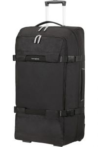 Samsonite Cestovní taška na kolečkách Sonora 112 l – černá
