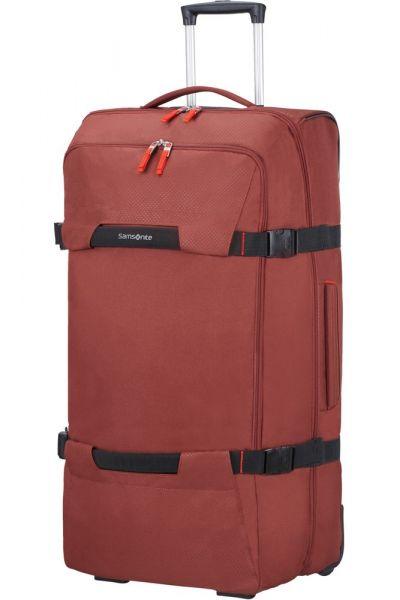 Samsonite Cestovní taška na kolečkách Sonora 112 l – červená