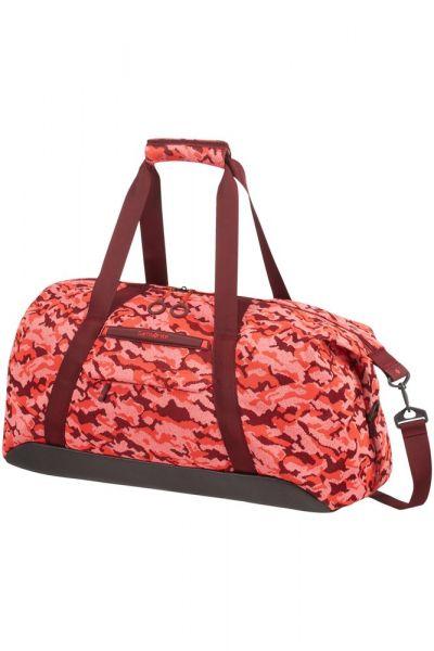 Samsonite Cestovní taška Neoknit 44 l – světle červená