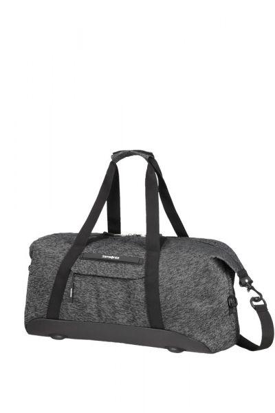 Samsonite Cestovní taška Neoknit 44 l – tmavě šedá