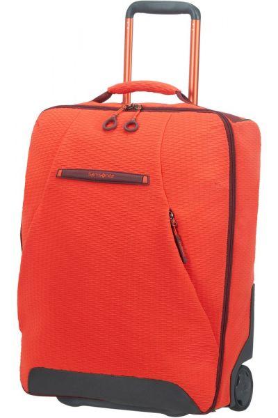 Samsonite Kabinový kufr/batoh na kolečkách Neoknit 41 l – červená