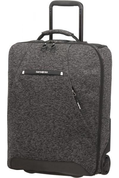 Samsonite Kabinový kufr/batoh na kolečkách Neoknit 41 l – tmavě šedá