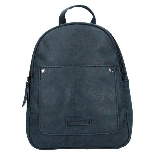 Moderní dámský batoh Enrico Benetti Zelda – tmavě modrá
