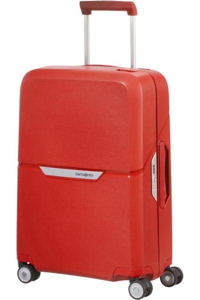Samsonite Kabinový cestovní kufr Magnum Spinner 38 l – červená