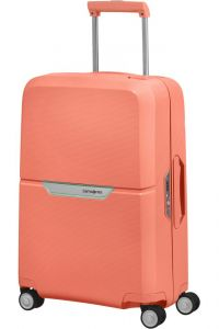 Samsonite Kabinový cestovní kufr Magnum Spinner 38 l – korálová