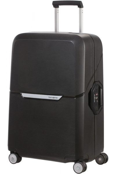 Samsonite Skořepinový cestovní kufr Magnum 82 l – černá