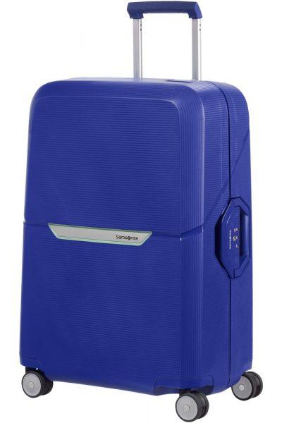 Samsonite Skořepinový cestovní kufr Magnum 82 l – kobaltová modrá