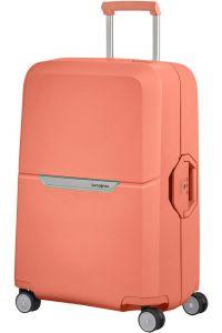 Samsonite Skořepinový cestovní kufr Magnum 82 l – korálová