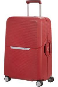 Samsonite Skořepinový cestovní kufr Magnum 82 l – rezavá červená
