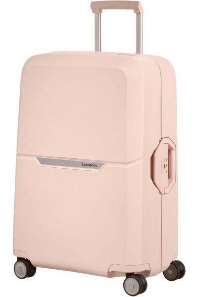 Samsonite Skořepinový cestovní kufr Magnum 82 l – světle růžová