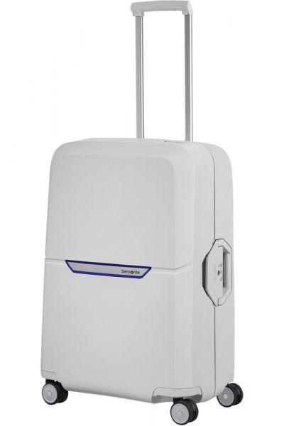 Samsonite Skořepinový cestovní kufr Magnum 82 l – světle šedá