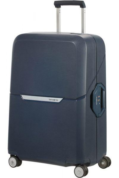 Samsonite Skořepinový cestovní kufr Magnum 82 l – tmavě modrá