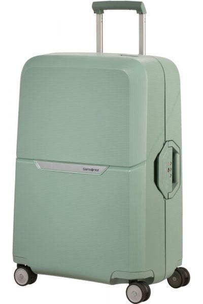 Samsonite Skořepinový cestovní kufr Magnum 82 l – zelená