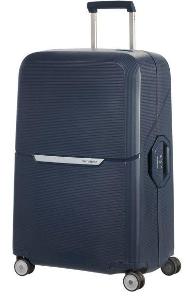 Samsonite Skořepinový cestovní kufr Magnum 104 l – tmavě modrá