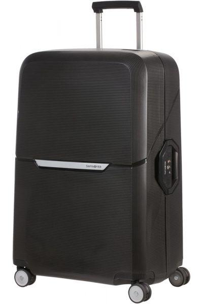 Samsonite Skořepinový cestovní kufr Magnum 104 l – černá